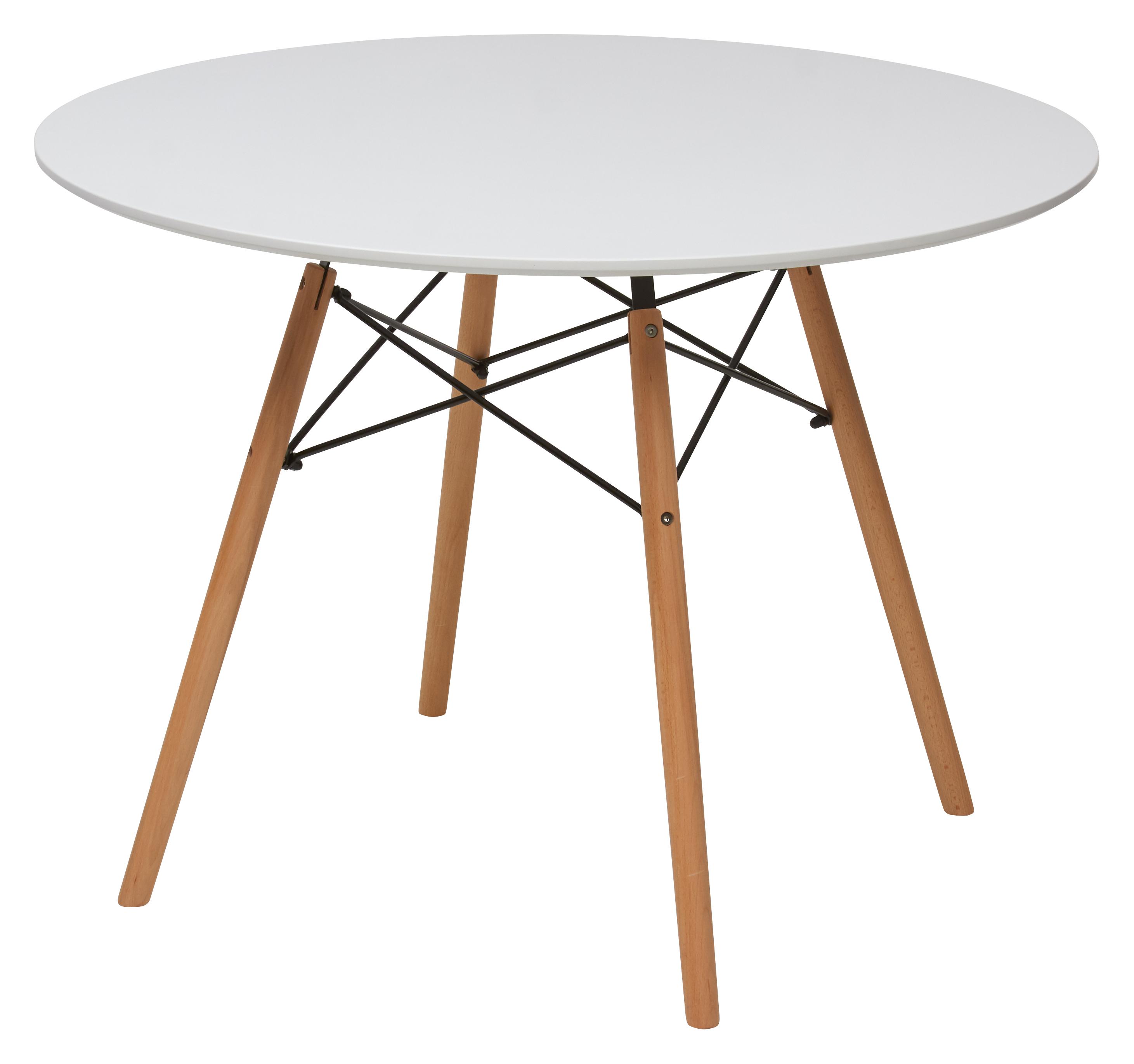 Сноудроп Стол на деревянном каркасе Д80, Д90, Д100