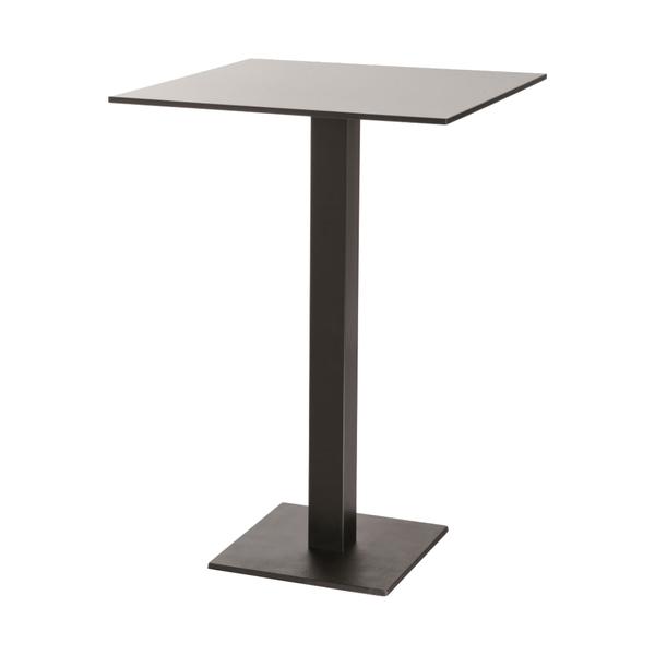 1039/ЛДСП Стол барный на металлическом каркасе 70*70
