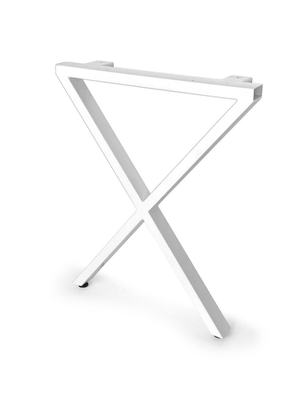 Лофт Х-образное Подстолье металлическое усиленное